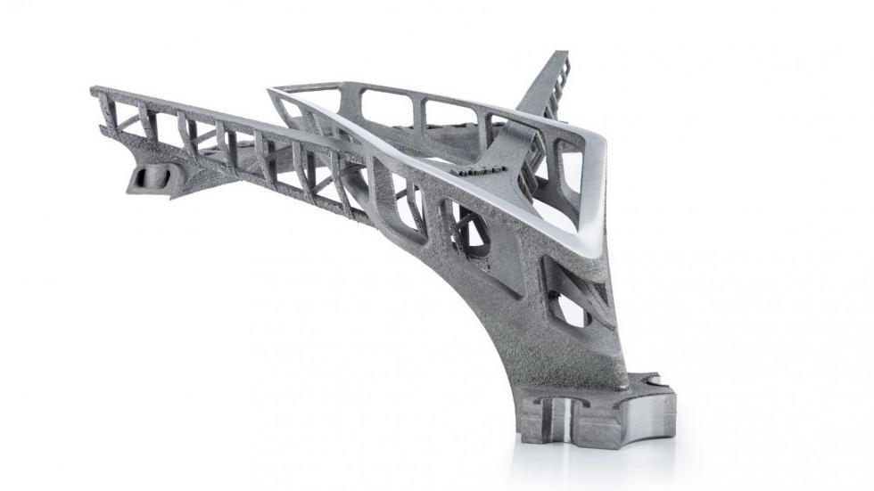 Estas son las primeras llantas de titanio creadas por impresora 3D del mundo