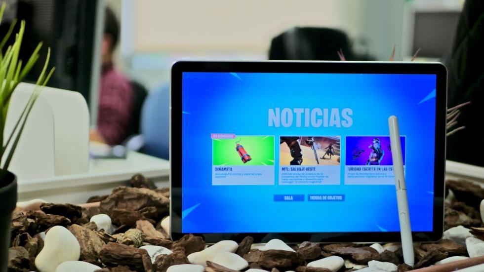 Samsung Galaxy Tab S4 Fortnite portada