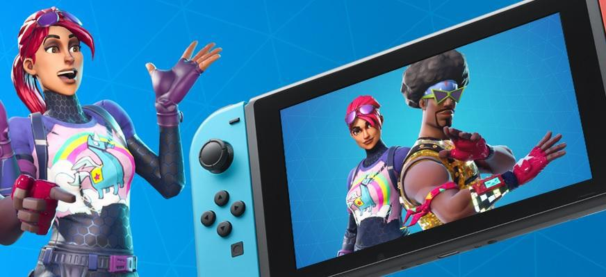 Fortnite Battle Royale Switch